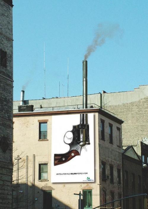"""""""Загрязнение воздуха убивает 60 тысяч человек в год"""""""