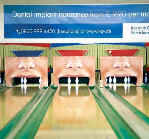 Реклама протезирования зубов