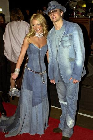 Джастин Тимберлейк и Бритни Спирс, American Music Awards, 2001 год.