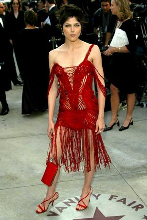 Сальма Блэр, Vanity Fair Oscars Party-2002.