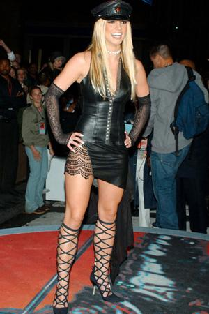Бритни Спирс, MTV Awards, 2002 год.