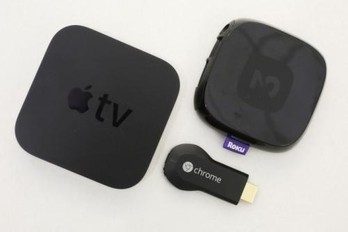 ����� �� ������ �� 19 ������� 2013 �. ��-���������� ����� Apple, � ������ � Google Chromecast, ������ � Roku 2. ����� ���������� ��� ���������� �����, ��� Roku, Apple TV � Google Chromecast ����������� ����������� � Netflix, YouTube � ������ ��������-�������� �� ��������� � ������� �������. ������� ��������� �������� �������� �������������. ��������-����������� ������� �� ����� ������ �� �����.