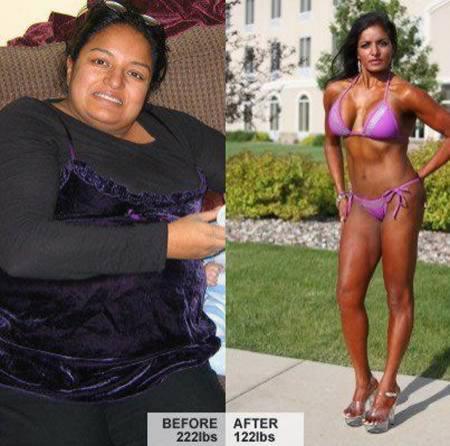 похудеть на 40 кг за 5 месяцев