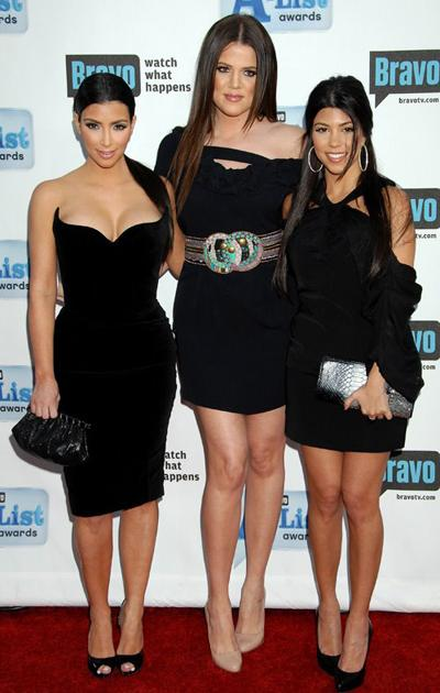 Сестры Кардашьян: Ким, Кортни и Хлоя (Kim, Kourtney and Khloe Kardashian)