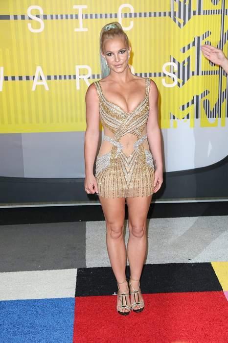 Бритни Спирс на церемонии MTV VMA 2015