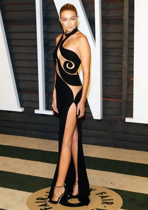 Джиджи Хадид на вечеринке Vanity Fair Oscar