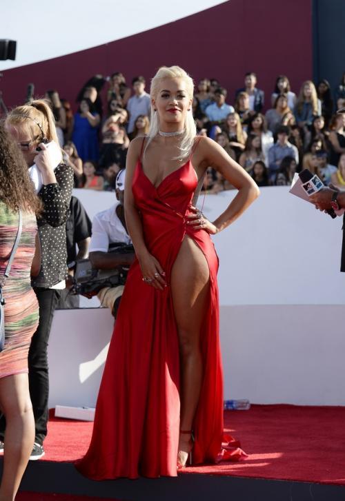 Рита Ора (Rita Ora). 25 августа 2014, Лос-Анжелес, США.