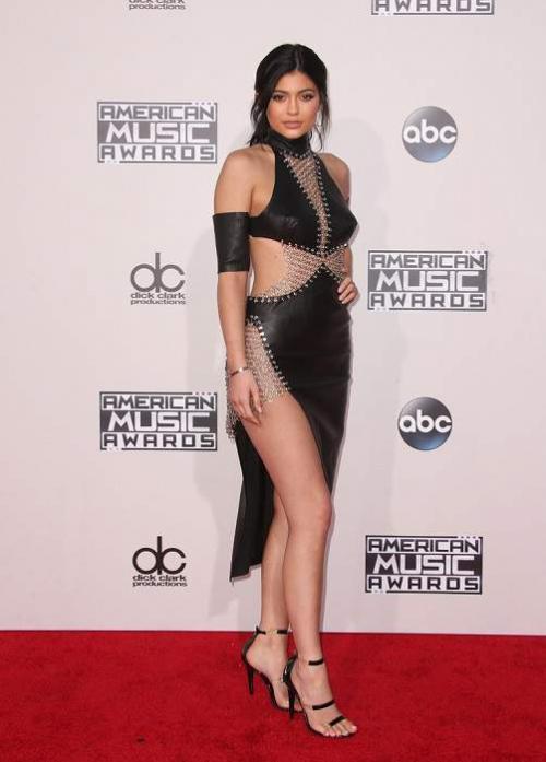 Кайли Дженнер на American Music Awards 2015