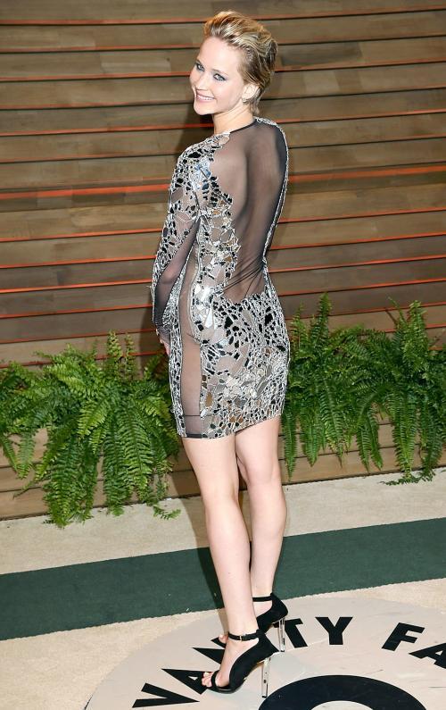 Дженнифер Лоуренс на Оскаре 2014