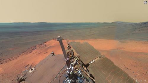 Марсоход curiosity передал на землю первые