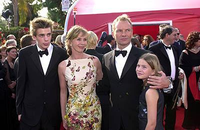 стинг с семьей фото