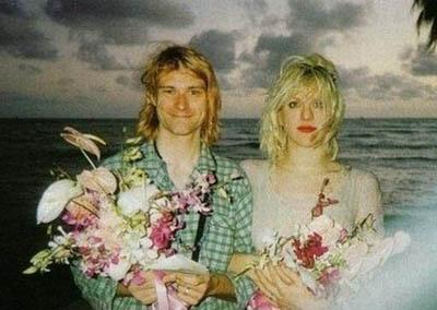 Курт Кобейн (Kurt Cobain) и Кортни Лав (Courtney Love)
