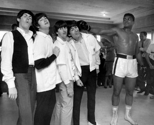 The Beatles � �������� ��� (Mohammad Ali).