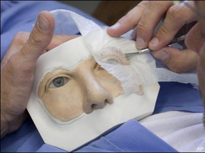 Как сделать лицо из силикона