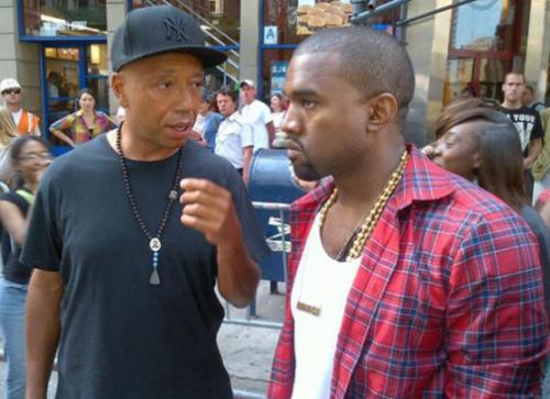 89. 10 ������� ������ ������� (Russell Simmons) � ����� ���� (Kanye West) �������� ������� � ���-�����.