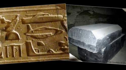 """""""Черные ящики инопланетян"""" Одна из самых странных и недавних находок, обнаруженных рядом с пирамидами, к югу от Гизы - 24 пустых черных ящика из гранита, весящих более 100 тонн каждый. Ученые были шокированы филигранностью работы по твердому камню и до сих пор остаются в неведении по поводу предназначения этих ящиков, сделанных более 3000 лет назад. Некоторые даже утверждают, что ящики не изготовлены древними египтянами, а оставлены на Земле таинственными гостями со звезд."""
