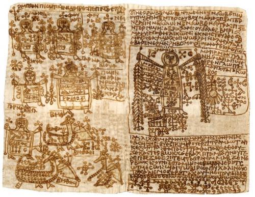 """Книга заклинаний В 1970-х в Верхнем Египте была обнаружена книга заклинаний, возраст которой насчитывал 1300 лет. Она была написана в VII-VIII веке на коптском языке. Книга еще не полностью расшифрована, но ученые уже обнаружили в ней любовные заклинания, заклинания для изгнания злых духов, лечебные и проклинающие заклятия. Ученые назвали ее """"Египетским справочником колдовских сил"""". Они полагают, что в не расшифрованной пока части книги хранится еще больше тайн, которые раскроют правду о верованиях прошлого."""