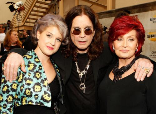 Келли, Оззи и Шэрон Осборн (Kelly, Ozzy & Sharon Osbourne)