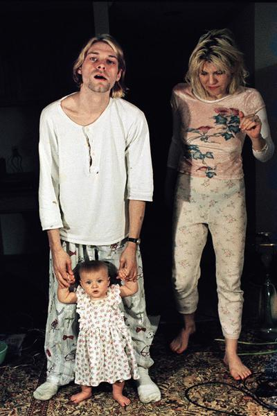 ���� ������ (Kurt Cobain) � ������ ��� (Courtney Love) � �������