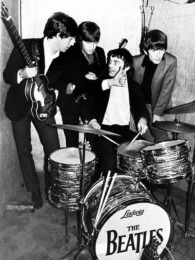 The Beatles и барабанщик Джимми Никол (Jimmy Nicol), июнь 1964 года