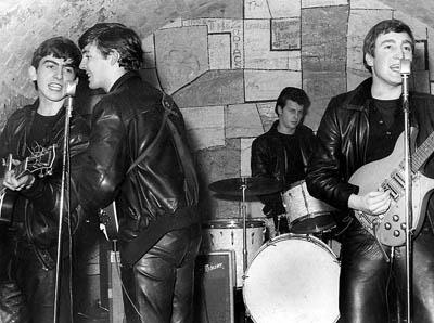 The Beatles. ����������� � ����� Cavern Club, ���������, 1961 ���.