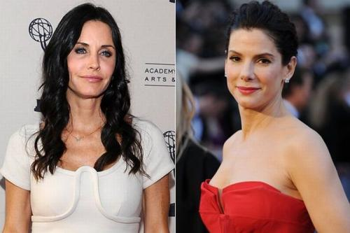 Кортни Кокс (Courteney Cox) и Сандра Баллок (Sandra Bullock) - 46 лет