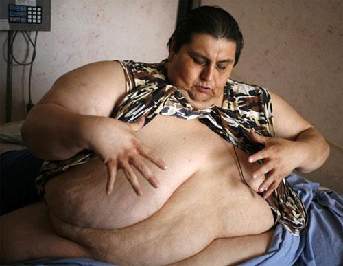 Самый толстый в мире человек собирается под венец (12 фото)