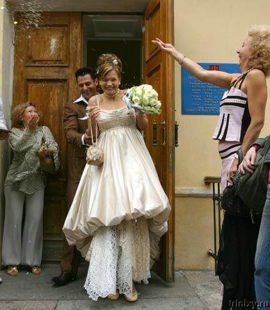 Фото свадьбы зары и сергея матвиенко
