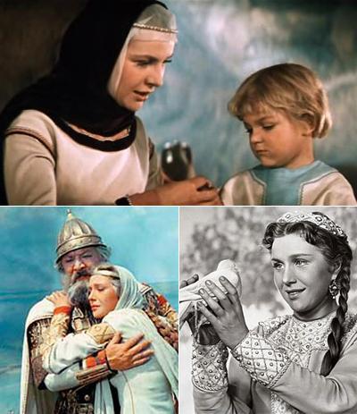 ...и Василисы сказке «Илья Муромец» (1956). Нинель вообще очень любила сниматься в сказках — они увлекали ее в другой, необычный и завораживающий мир.