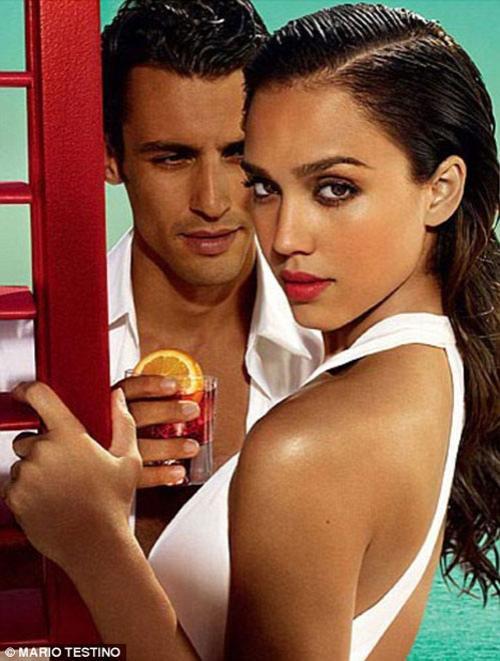 Джессика Альба хочет арбузов