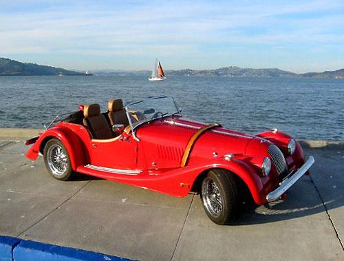 Morgan Plus 8. ���� ���������� ��� ������ ��� � 1968 ����, � � ��� ��� ��� ������� ��� ��������� �� ��������. ������, ������������ ������� �����, ���������, ���� ������� ��������� ���������� �������������� �� ����� - �� �� ��� ��� �������� ����� �� ������� ������.