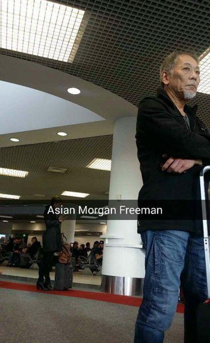 Азиатский Морган Фримен.