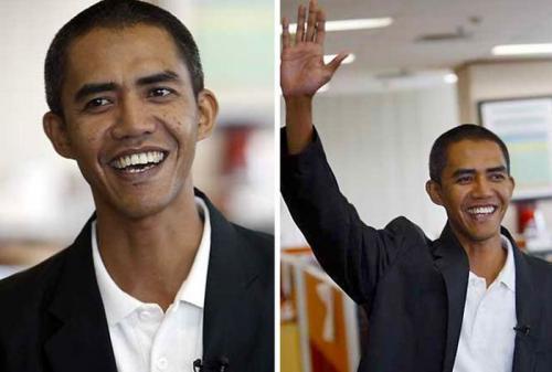 Барак Обама из Индонезии.