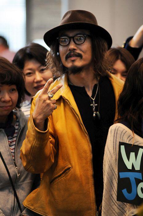 Японский Джонни Депп.