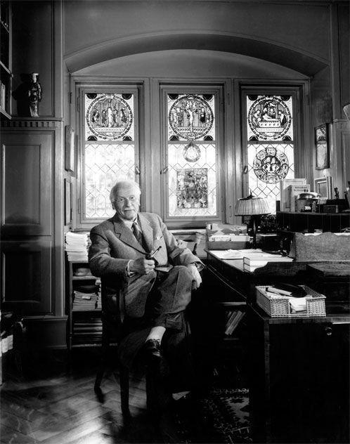 Карл Юнг (Carl Jung), 1958