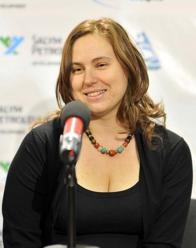 Юдит Полгар (Judit Polgár), венгерская шахматисткаIQ=170