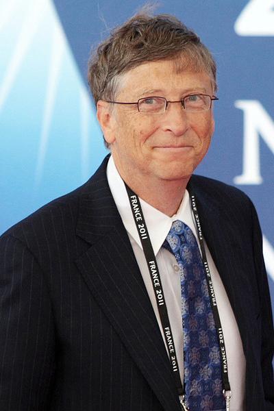 Билл Гейтс (Bill Gates), американский предприниматель, соучредитель Корпорации MicrosoftIQ=160
