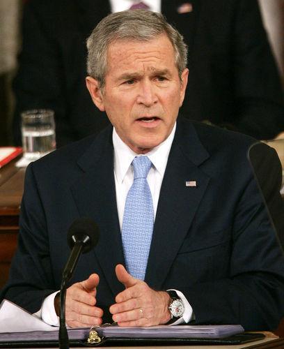 Джордж Буш мл. (George Bush), американский политик, экс-президент СШАIQ=125