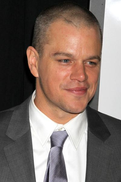 Мэтт Дэймон (Matt Damon), американский актер, продюсер и сценарист