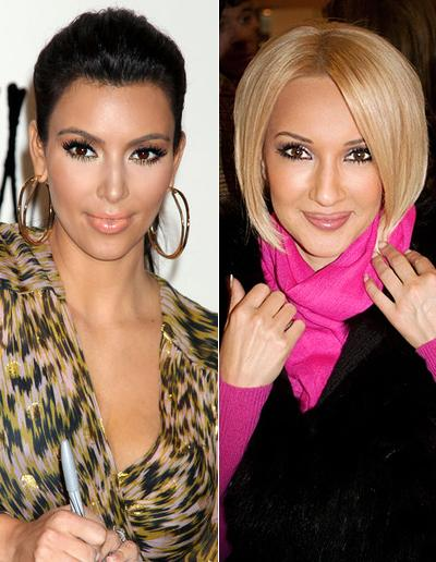 Ким Кардашьян (Kim Kardashian) двойник Лера Кудрявцева