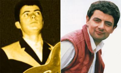 Ричи Блэкмор (Ritchie Blackmore) двойник Роуэн Аткинсон (Rowan Atkinson)