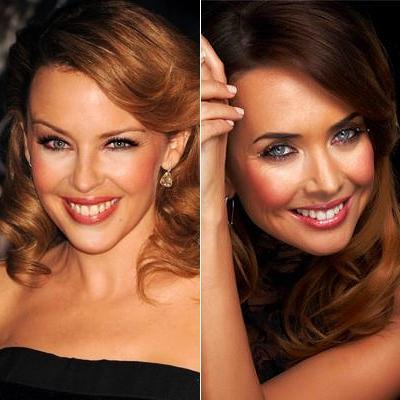 Кайли Миноуг (Kylie Minogue) двойник Жанна Фриске