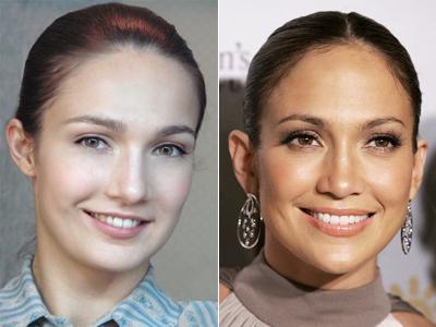 Евгения Брик двойник Дженнифер Лопес (Jennifer Lopez)