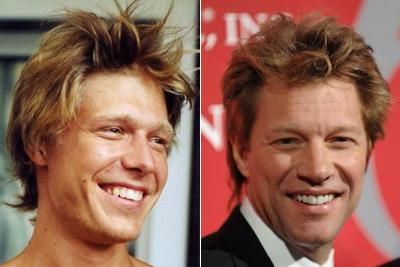 Никита Ефремов двойник Джон Бон Джови (Jon Bon Jovi)