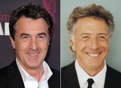 Франсуа Клюзе (François Cluzet) двойник Дастин Хоффман (Dustin Hoffman)