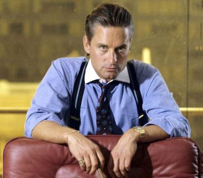 14. ������ ����� (Gordon Gekko), ����� ����-����� / Wall Street (1987)