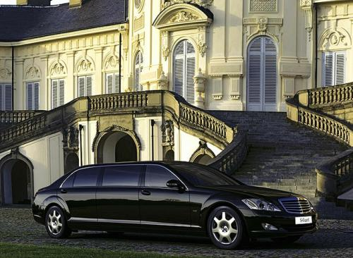 Mercedes-Benz S600 Pullman Guard. �� ����� ����� ���������� ��������� ������� ��������.