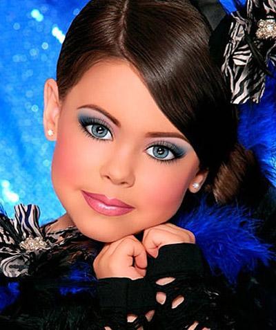 Фото детские макияж