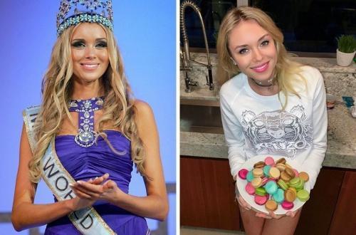 Ксения Сухинова, Россия, «Мисс мира — 2008».