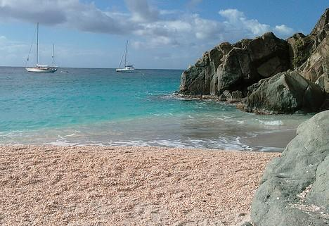 ... Shell Beach, Gustavia, Карибские острова...